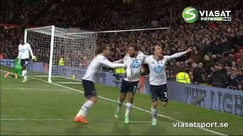 Se Tottenhams seger på Old Trafford förra säsongen