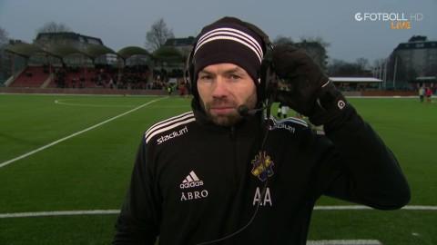 """Andreas Alm: """"Just nu tränar vi på att vara dåliga"""""""