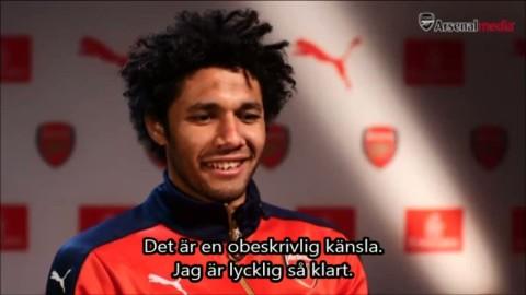 """Arsenals nyförvärv: """"Arsenal är ett av världens bästa lag"""""""