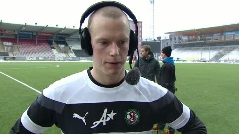 """Gustavsson: """"Skönt att få göra två enkla mål"""""""