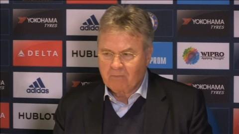 """Hiddink: """"Drömmer fortfarande om topp fyra"""""""