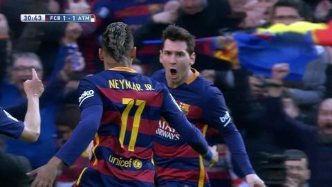 Höjdpunkt: Barca vände under galen första halvlek