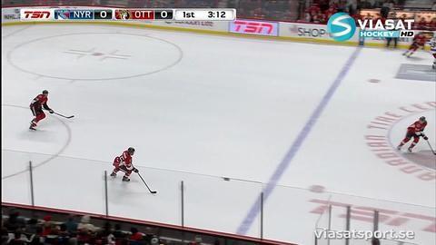 Höjdpunkt: Karlsson med briljant open ice-tackling