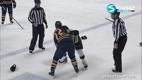 Höjdpunkt: Larsson kastade handskarna mot veteranen