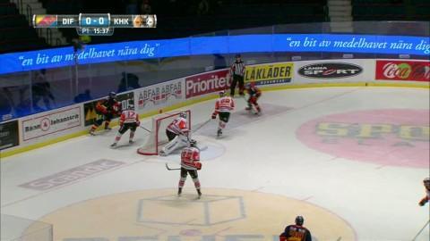 Höjdpunkter: Karlskrona snuvades på en straff när Djurgården vann
