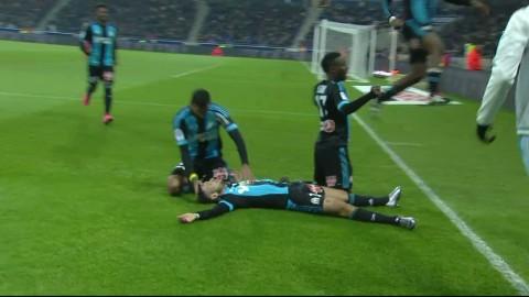 Höjdpunkter: Lyon räddade sen poäng i tungviktsmötet med Marseille