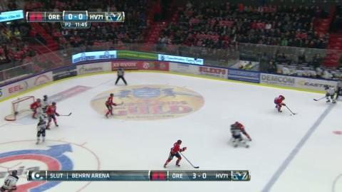 Höjdpunkter: Örebro tog tre viktiga poäng mot HV71