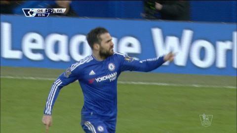 Mål: Costa och Fabregas samarbetar igen när Chelsea kvitterar (2-2)