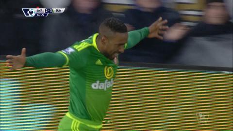 Mål: Defoe tvåmålsskytt när Sunderland utökar (2-3)