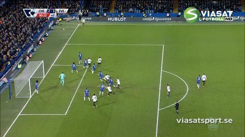 Mål: Funes Mori sänker Chelsea på övertid (2-3)