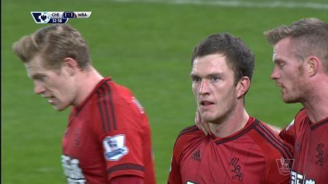 Mål: Gardner dunkar in kvitteringsmålet mot Chelsea (1-1)