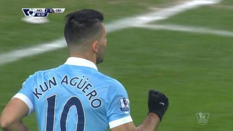Mål: Målfest på Etihad - Agüero slår till igen (3-0)
