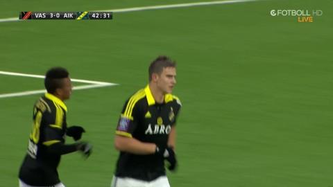 MÅL: Markkanen tillbaka i AIK-tröjan - reducerar till 3-1