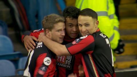 Mål: Norrmannen kvitterar för Bournemouth