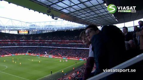 Mål: Sanchez ger Arsenal ledningen på nytt (2-1)