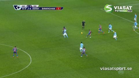 Mål: Silva säkrar segern för City (4-0)