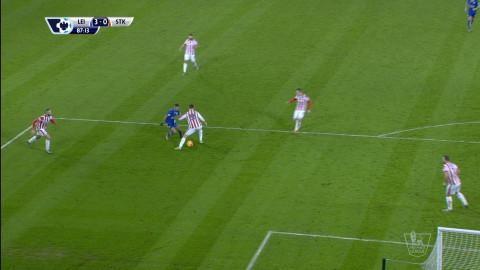 Mål: Ulloa säkrar segern efter Mahrez magiska tunnel (3-0)
