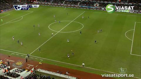 Mål: West Ham tar ledningen på nytt - Valencia tvåmålsskytt (2-1)