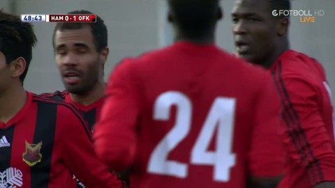 Östersund gör 1-0 mot Hammarby