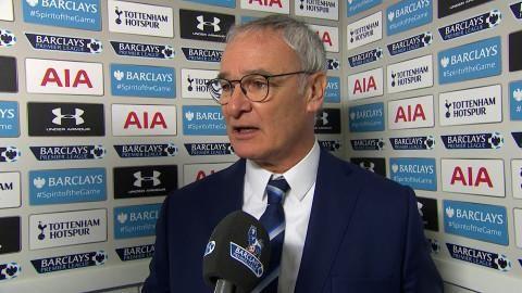 """Ranieri efter segern: """"Vi behöll lugnet"""""""