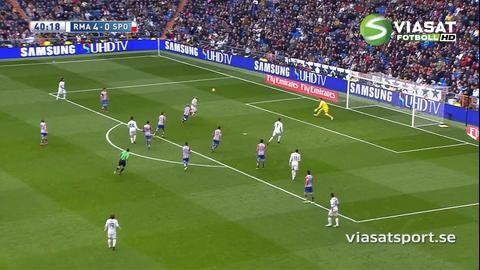 Sammandrag: Bale och Benzema skadade i Reals 5-1-kross