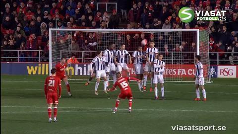 Sammandrag: Bristol City-West Bromwich Albion 0-1