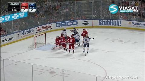 Sammandrag: Buffalo - Detroit 0-3