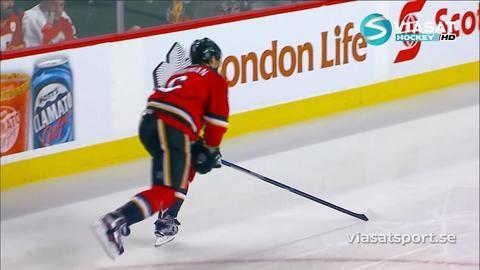Sammandrag: Calgary-Nashville (1-2)