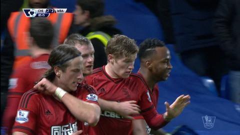 Sammandrag: Chelsea tappade poäng efter sent mål