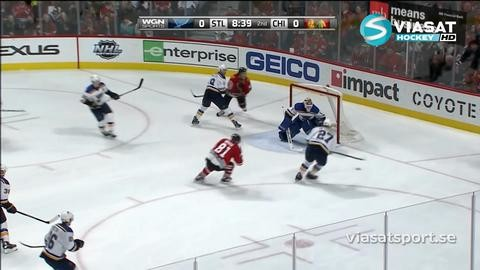 Sammandrag: Chicago-St Louis (2-0)