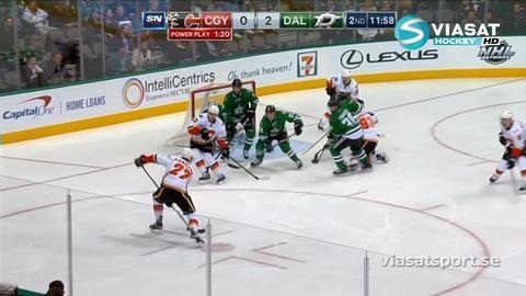 Sammandrag: Dallas-Calgary (2-1)