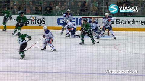 Sammandrag: Dallas - Edmonton 3-2