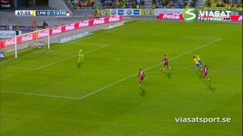 Sammandrag: Griezmann tvåmålsskytt när Atlético tog tre poäng