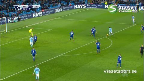 Sammandrag: Mållöst mellan City och Everton på Etihad Stadium