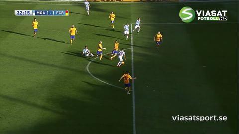 Sammandrag: Messi ordnade seger för Barça på bortaplan