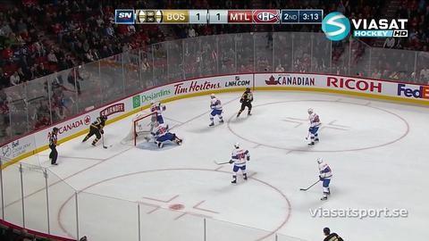 Sammandrag: Montreal - Boston 1-4