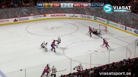 Sammandrag: Montreal-Chicago 1-2