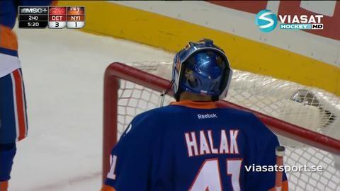 Sammandrag: NY Islanders-Detroit (2-4)