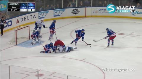 Sammandrag: NY Rangers - Vancouver 3-2 (OT)
