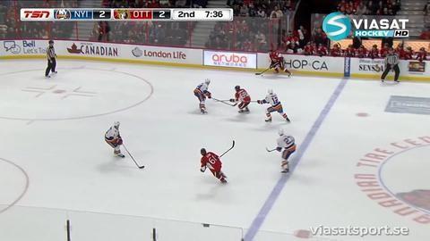 Sammandrag: Ottawa - NY Islanders 2-5