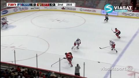 Sammandrag: Ottawa-Rangers (3-0)