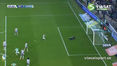 Sammandrag: Real Madrid tog poäng efter tveksamt offsidemål
