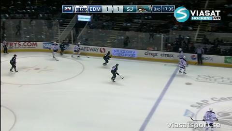 Sammandrag: San José-Edmonton 2-1
