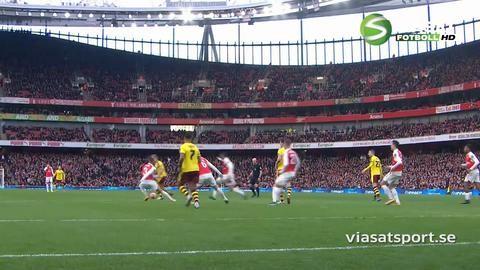 Sammandrag: Sanchez ordnade seger för Arsenal