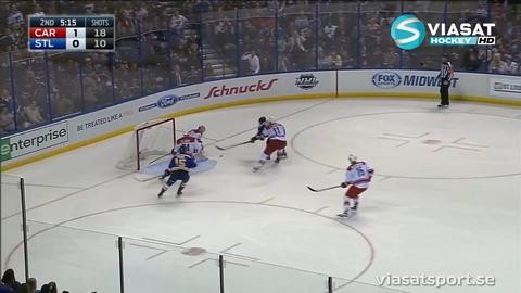 Sammandrag: St. Louis-Carolina 1-4
