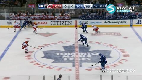Sammandrag: Toronto - Carolina 0-1 (OT)