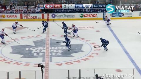 Sammandrag: Toronto - Montreal 2-3