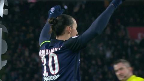 TV: Zlatan målskytt när PSG hade total lekstuga - flera vackra mål!