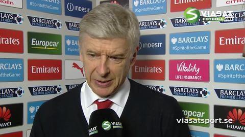"""Wenger om Giroud: """"Det var ett självklart beslut"""""""