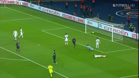 Zlatan får hål på överraskningslaget - gör 1-0 till PSG